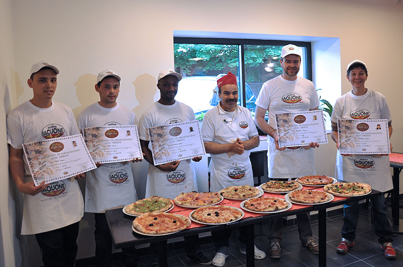 stage professionalisation pizza